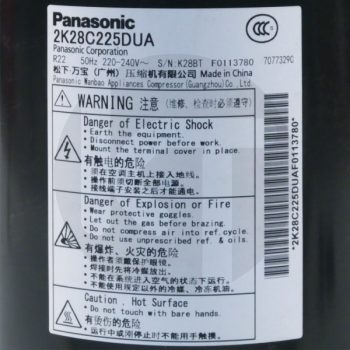 Компрессор для кондиционера Panasonic 2K28C225BUA