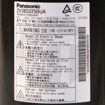 Компрессор для кондиционера Panasonic 2V36S225BUA