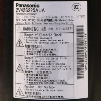 Компрессор для кондиционера Panasonic 2V42S225AUA