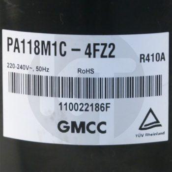 Компрессор для кондиционера GMCC PA118M1C-4FZ2