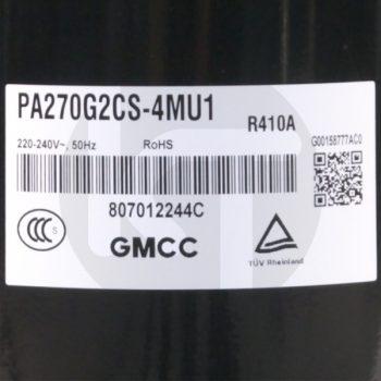 Компрессор для кондиционера GMCC PA270G2CS-4MU1