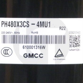 Компрессор для кондиционера GMCC PH480X3CS-4MU1