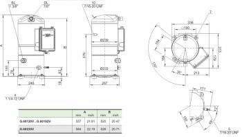 Спиральный компрессор Bitzer OrbitGSD60120VA