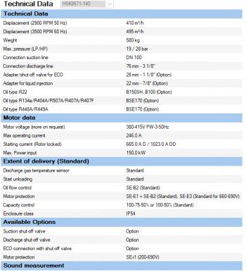 Полугерметичный компрессор Bitzer HSK8571-140