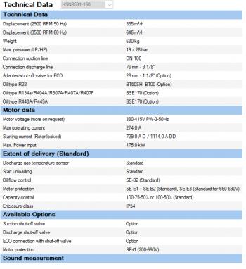 Полугерметичный компрессор Bitzer HSN8591-160