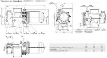 Полугерметичный компрессор Bitzer CSH7553-50Y