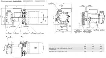 Полугерметичный компрессор Bitzer CSH7573-70Y