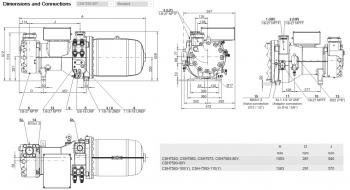 Полугерметичный компрессор Bitzer CSH7593-90Y