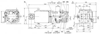 Полугерметичный компрессор Bitzer HSK7461-80