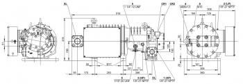 Полугерметичный компрессор Bitzer HSN6461-50