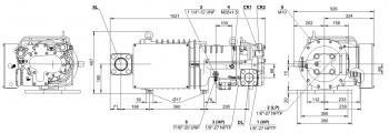 Полугерметичный компрессор Bitzer HSN7451-60