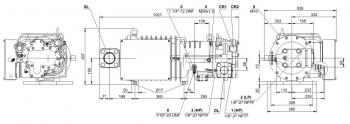 Полугерметичный компрессор Bitzer HSN7461-70